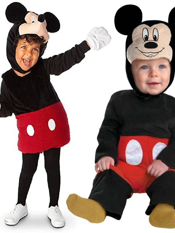 Mickey Mouse Halloween Costume ONLY $15 (Reg. $48)
