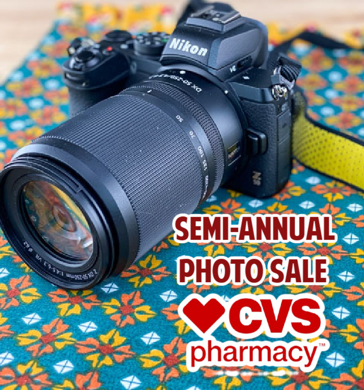 Semi-Annual Photo Sale at CVS – Save up to 75%!