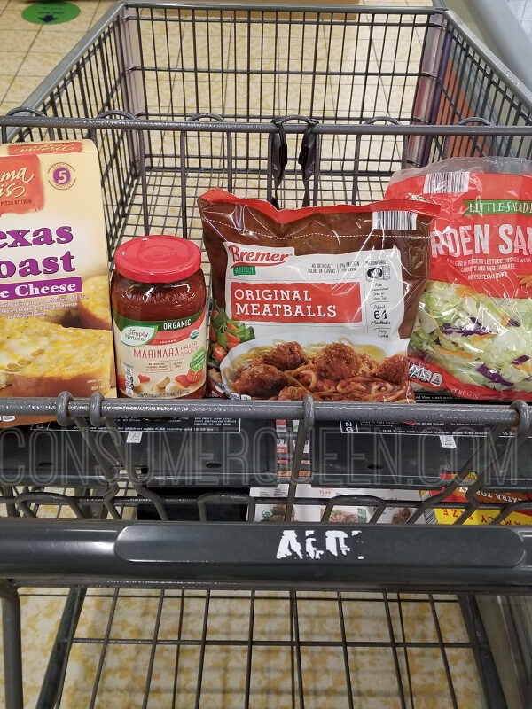 Spaghetti & Meatballs Dinner for 4 – Under $10 With Leftovers!