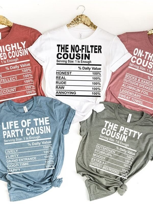 Holiday Cousin Tees