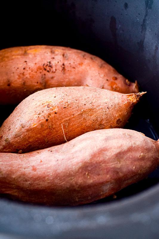 Instant Pot Sweet Potato Boats