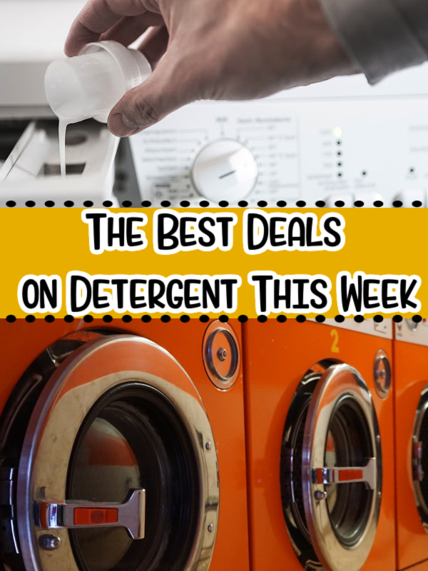 The Best Detergent Deals This Week – As Low as 99¢!