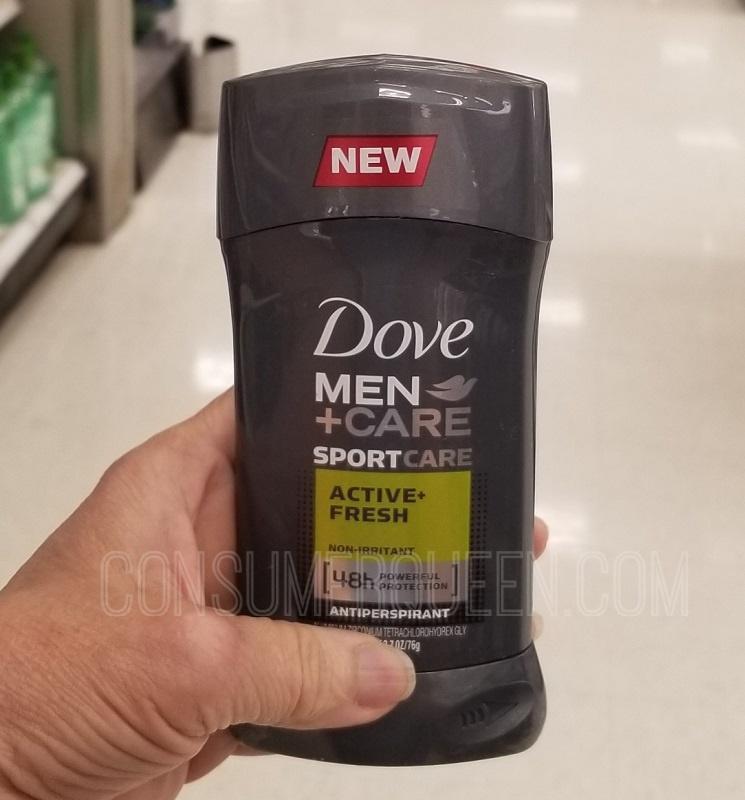 Dove Men+Care Deodorant FREE at Target After Cash Back!