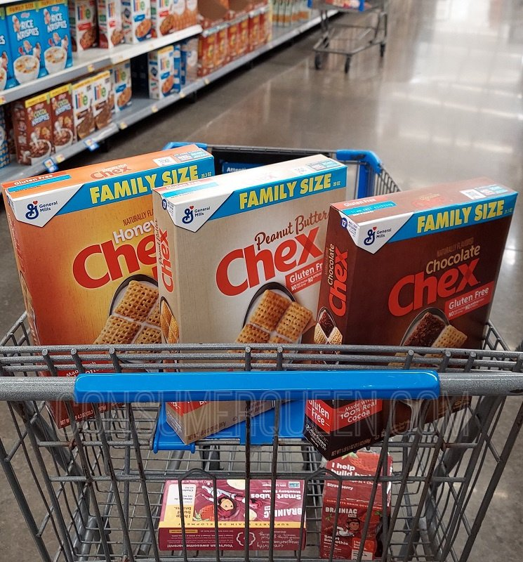 Family Size Chex Cereals