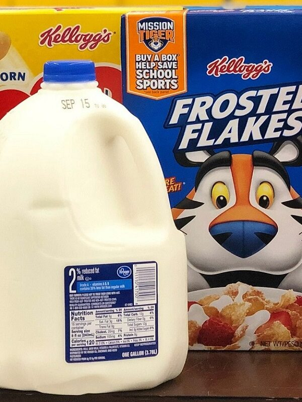 FREE Milk When You Buy Kelloggs Cereal