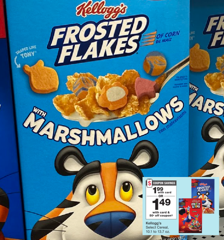 Kellogg's Cereals as Low as FREE at Walgreens is Week!