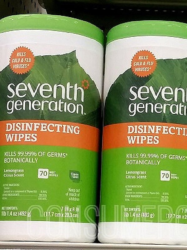 Seventh Generation 70-ct. Disinfecting Wipes & Spray In-Stock  (EPA-Approved Against COVID-19!)