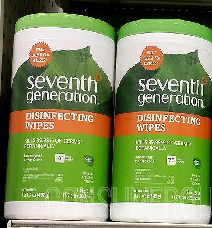 Seventh Generation 70 Count Wipes