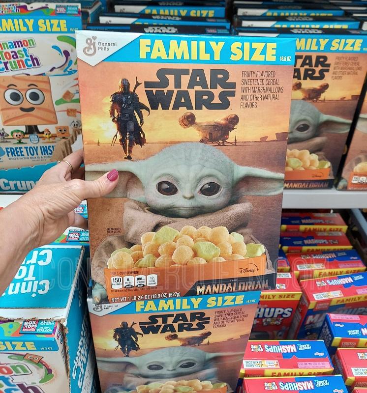 Star Wars Mandalorian Cereal