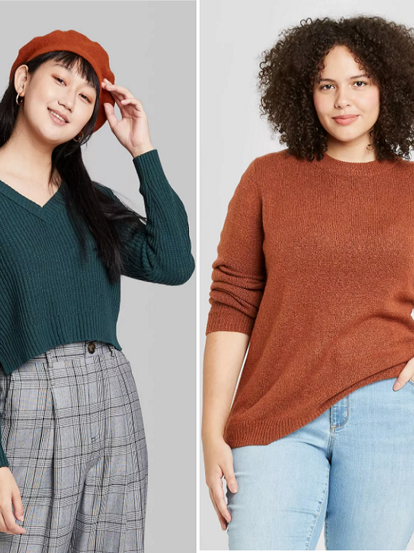 $10 Sweaters at Target – Regularly Up to $23!
