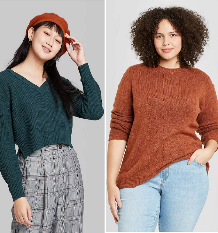 $10 Sweaters at Target