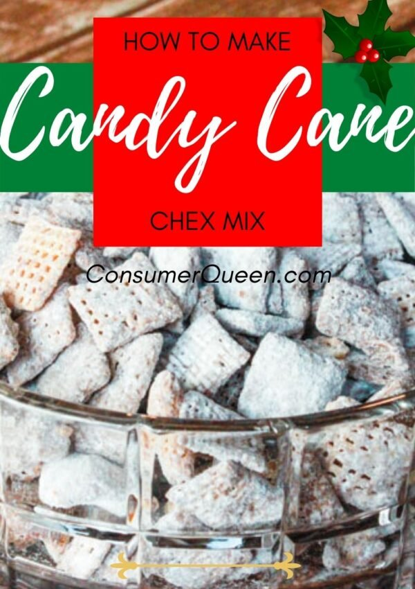 Candy Cane Kisses Puppy Chow