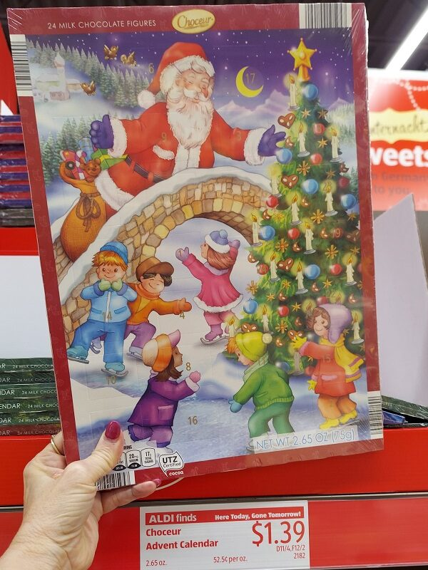 Advent Calendars at Aldi