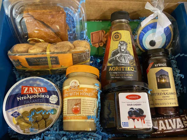 A Sliver of Greece- Greek and International food market