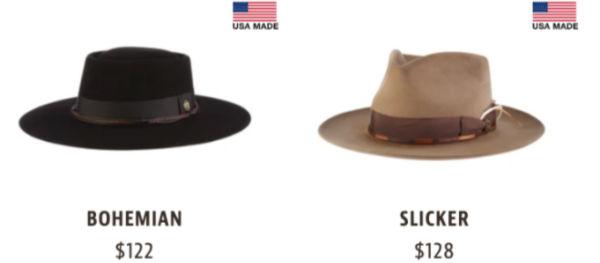 Tenth Street Hats