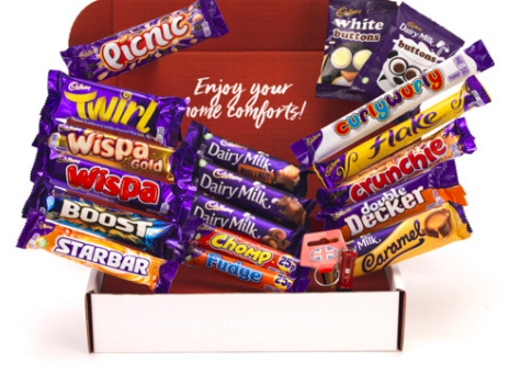 Brit Kit- Cadbury Chocolate Selection
