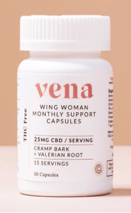 Vena Wing Woman Monthly support capsules - Holiday Wellness Gifts
