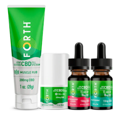 FORTH CBD Sampler Pack Holiday Wellness Gifts