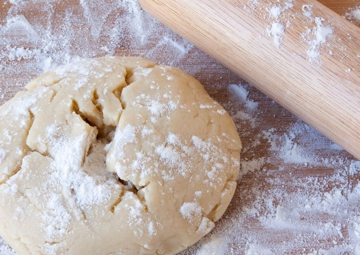 Candy Cane Cookies Recipe- dough