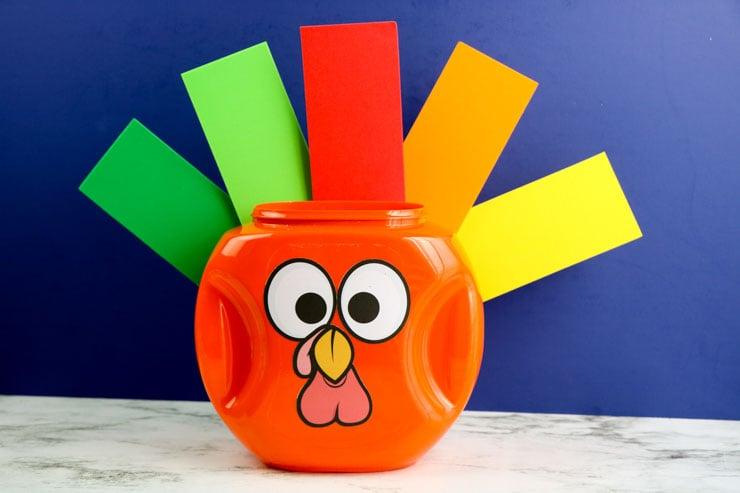 Tide Pod Turkey Craft
