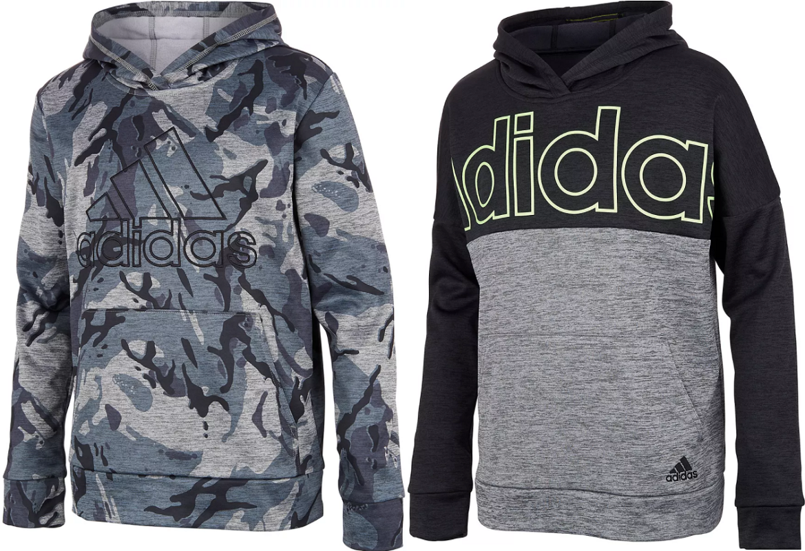 Boys Adidas Hoodies $24.99 (reg.$45!) – LOTS of colors and styles! *Expired*