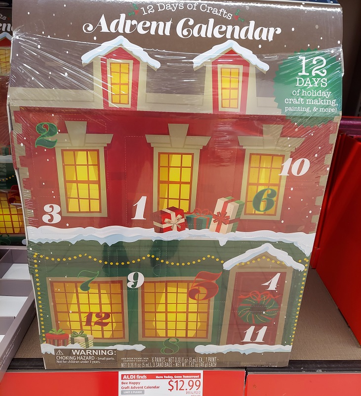 Bee Happy advent calendar at Aldi