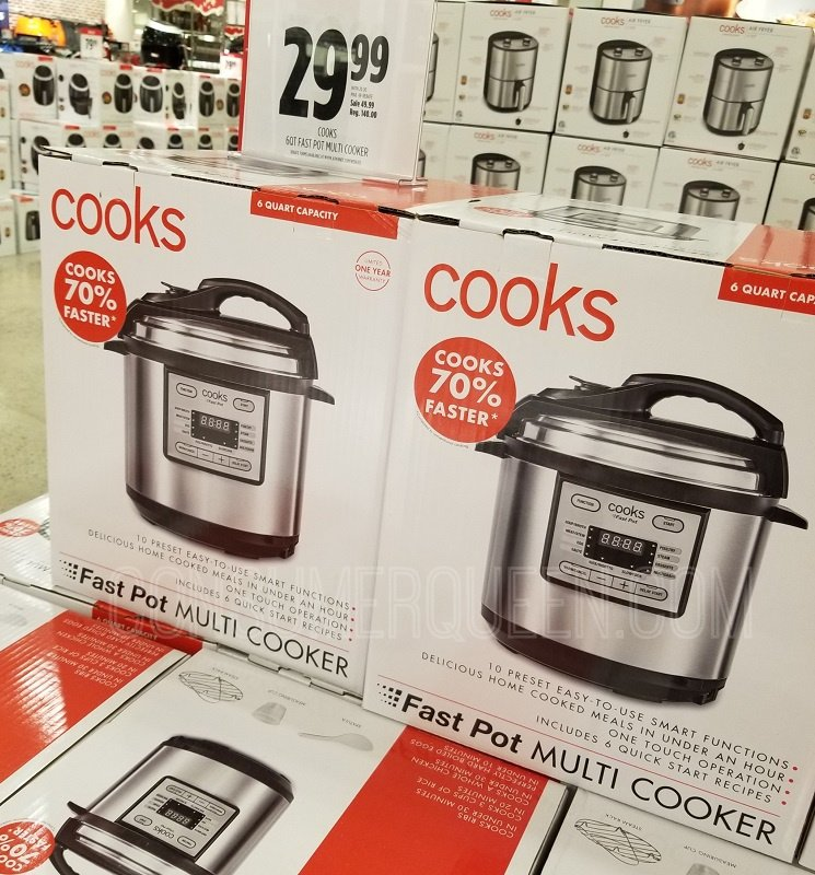 Cook's 6 Quart Multi-Cooker ONLY $29.98 After Rebate at JCPenney!