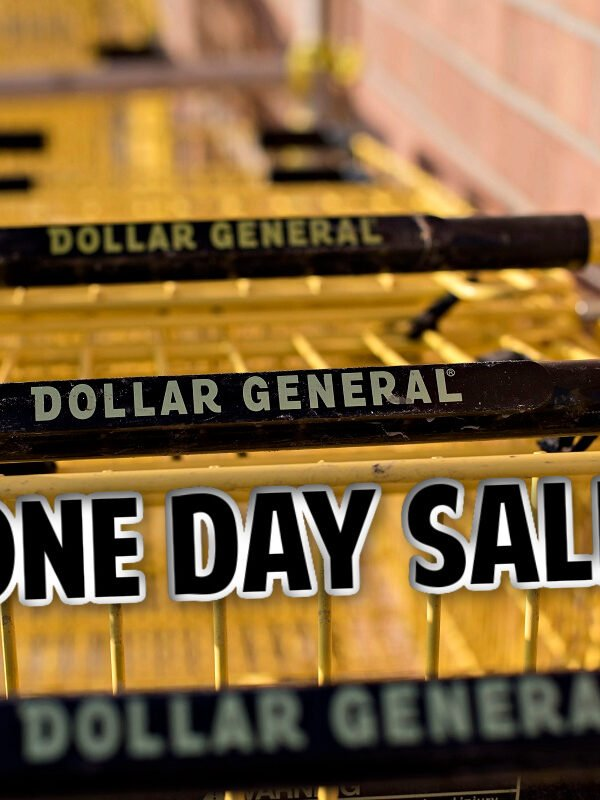 Dollar General one day sale