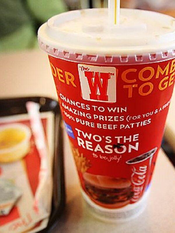 Free Drink Everyday at Wendys