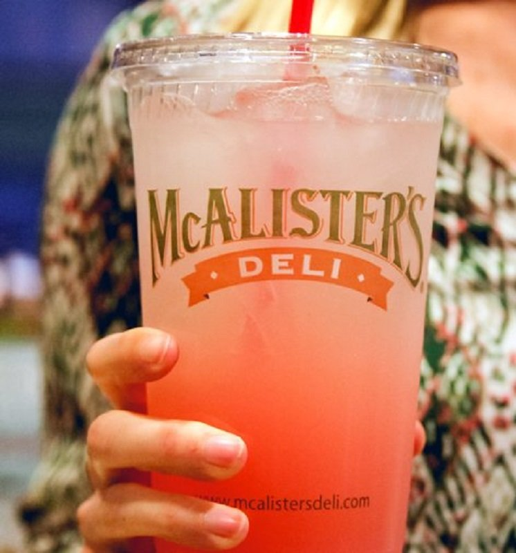 FREE Lemonade at McAlisters With Entree Purchase!