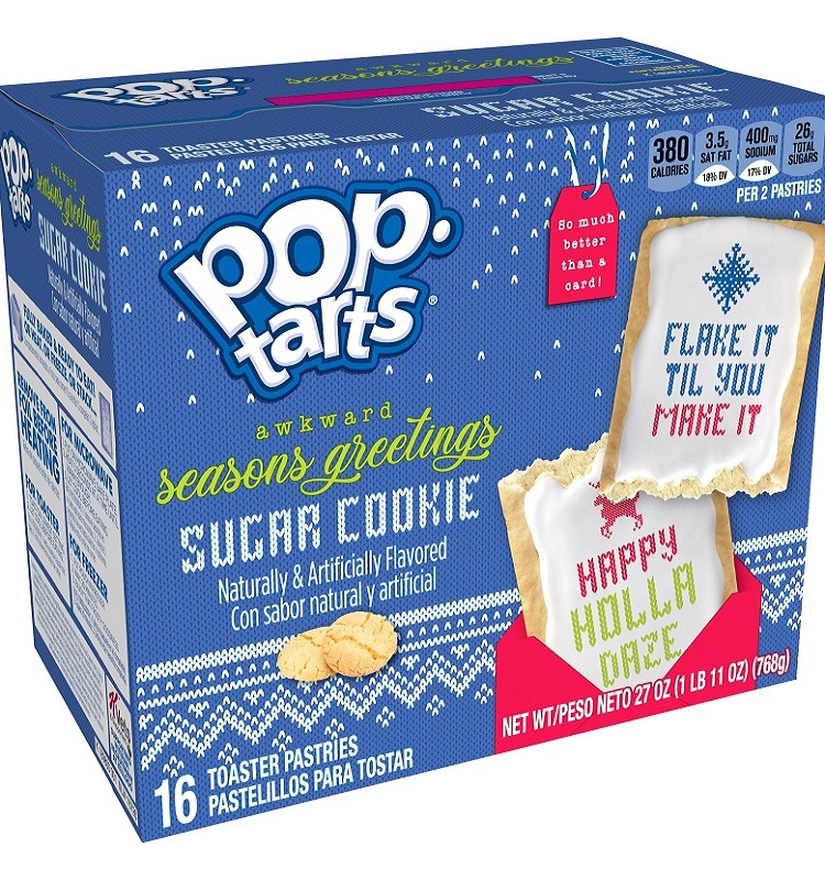Frosted Sugar Cookie Pop-Tarts