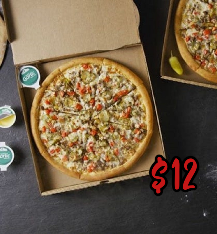 Large Double Cheeseburger Pizza Only $12 at Papa John's – Don't Miss!