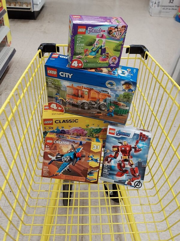 Lego toys 20% off at Dollar General