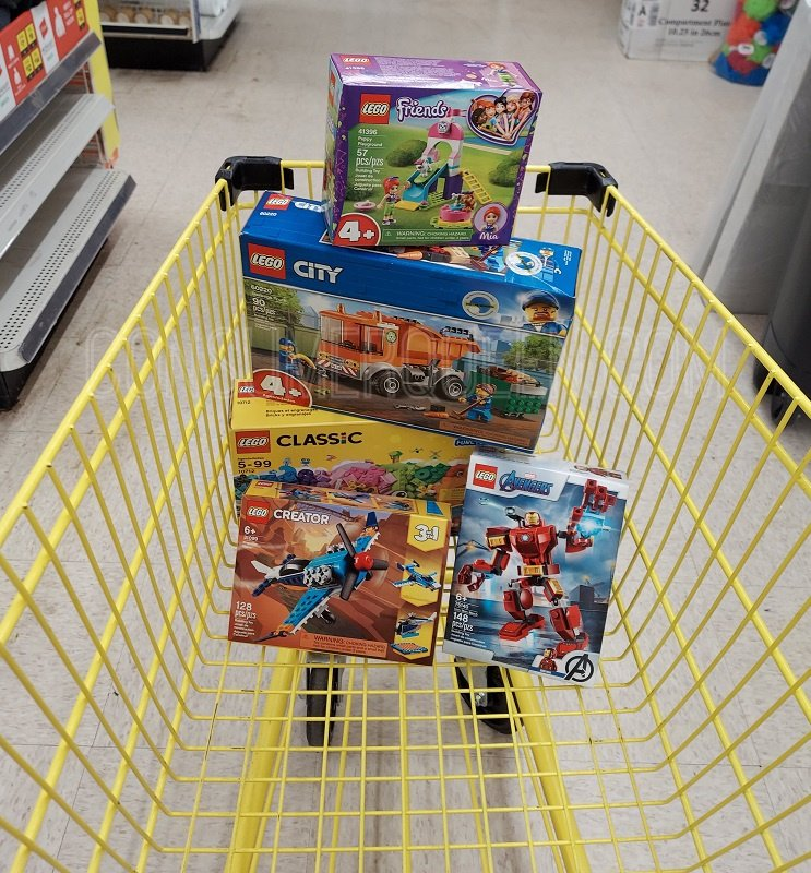 Lego Toys 20% Off at Dollar General – Prices Start at $4!