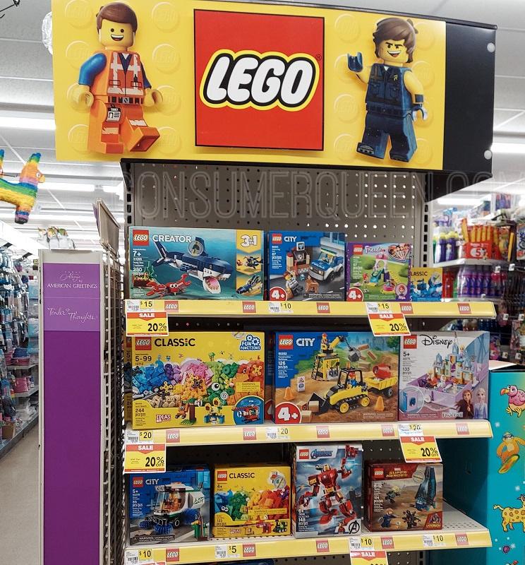 Lego toys at Dollar General