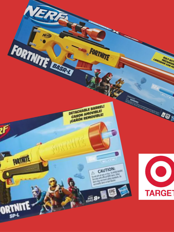 Nerf Fortnite Blaster Items 25% Off at Target – as Low as $5.91! *EXPIRED*