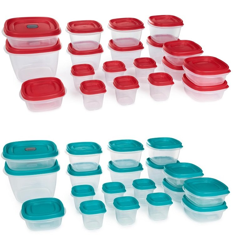 Rubbermaid Easy Find 30 Piece Storage Set