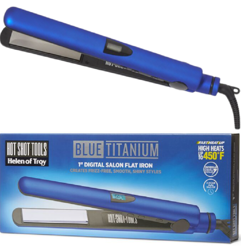 titanium digital flat iron