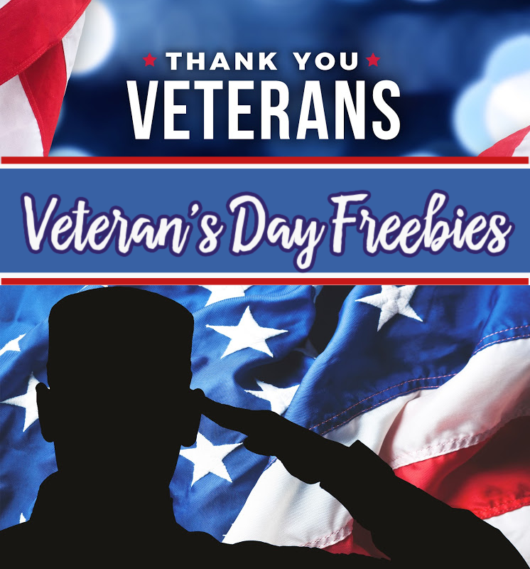 Veteran's Day Freebies and Discounts *EXPIRED*