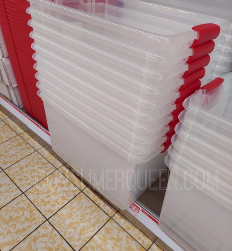 64 Quart Latching Storage Box