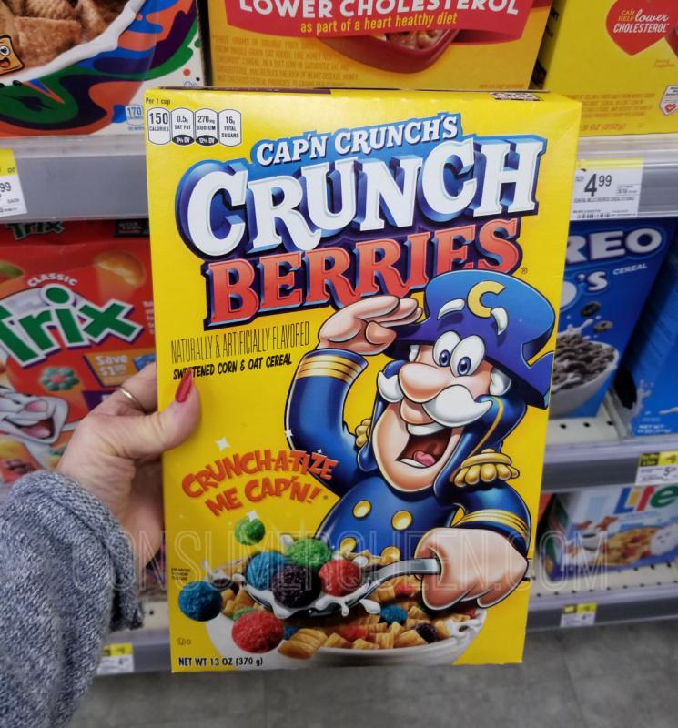 breakfast cereal cap'n, crunch