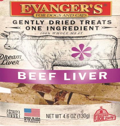 Evanger's beef liver