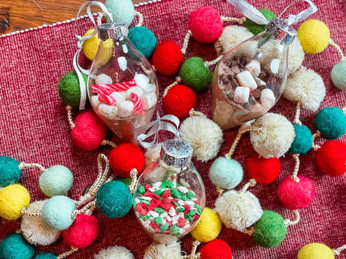 Hot Cocoa Ornaments Finished
