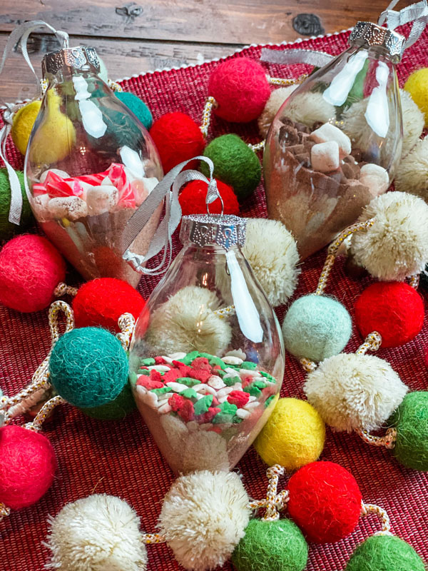 Hot Cocoa Ornaments Finished featured