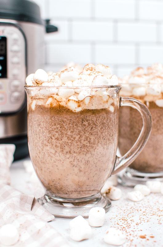 Tuxedo Instant Pot Hot Chocolate