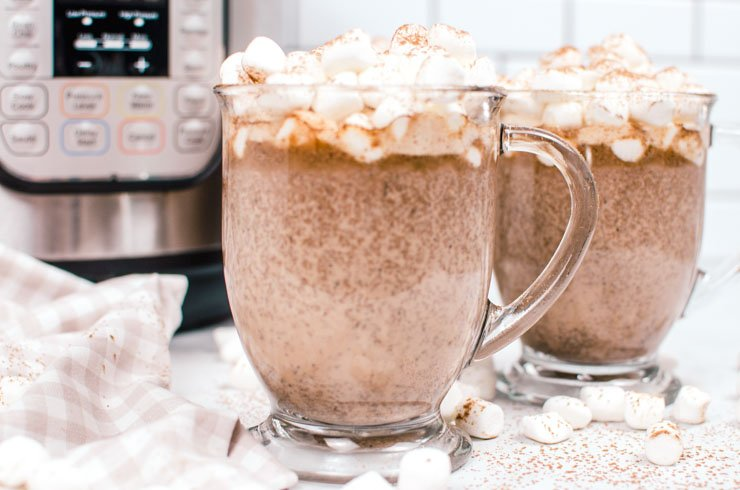 Instant Pot Hot Chocolate Recipe- Tuxedo