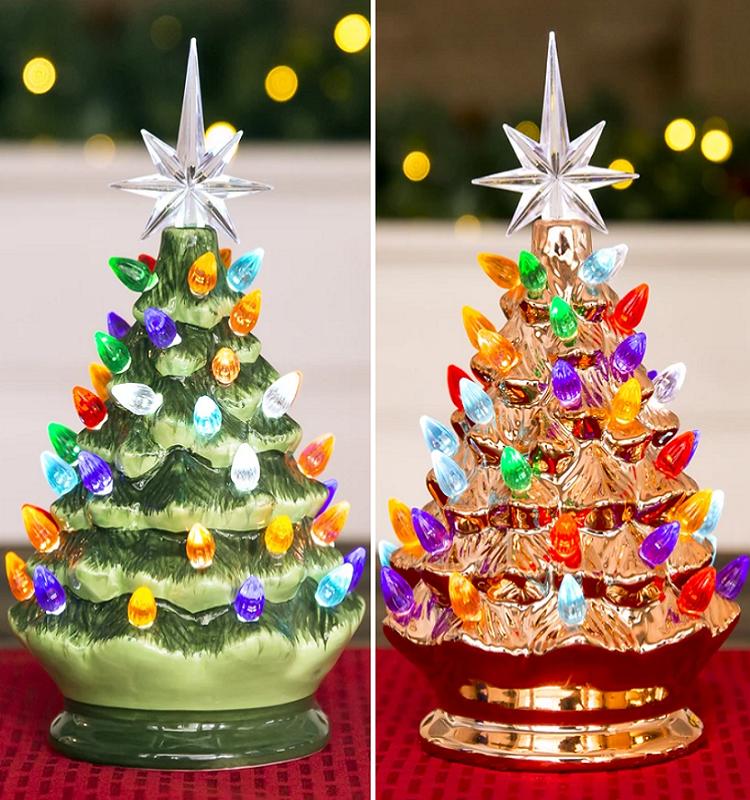 Ceramic Lighted Christmas Tree $19.99 Shipped (Reg. $29.99!)