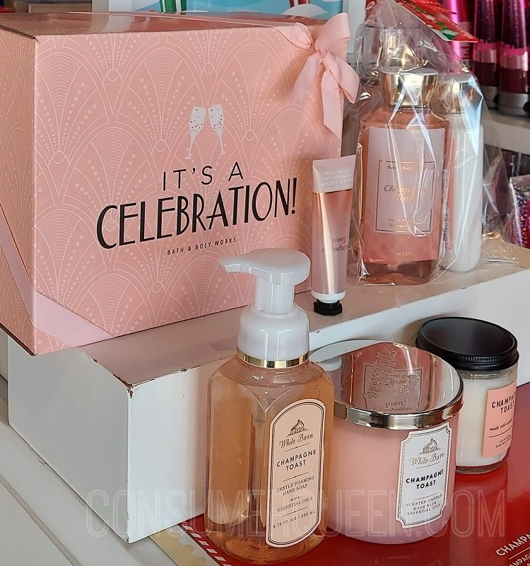 Champagne Toast Gift Set $35 With $30 Purchase ($98 Value) *EXPIRED*