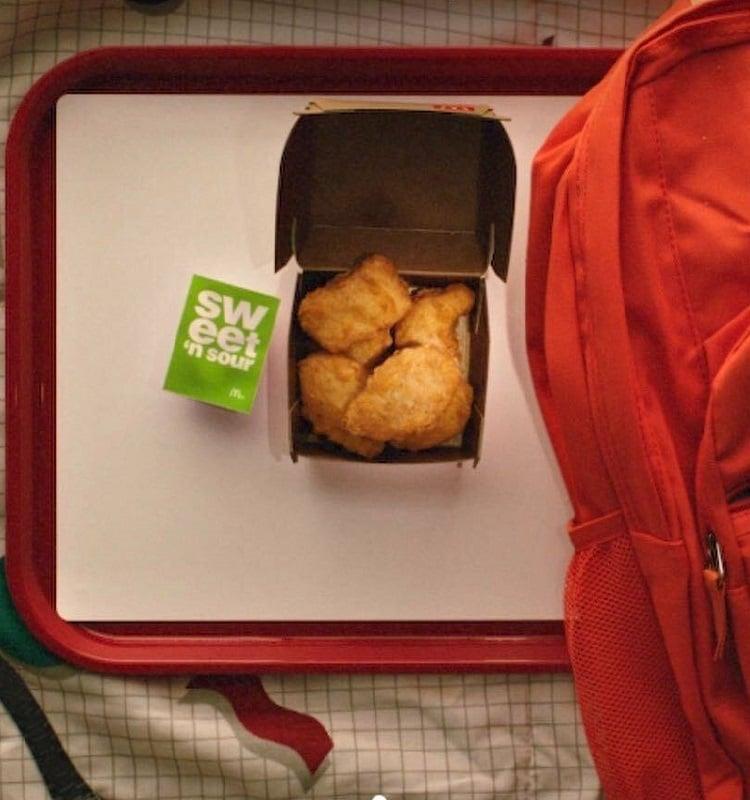 chicken nuggets at McDonalds