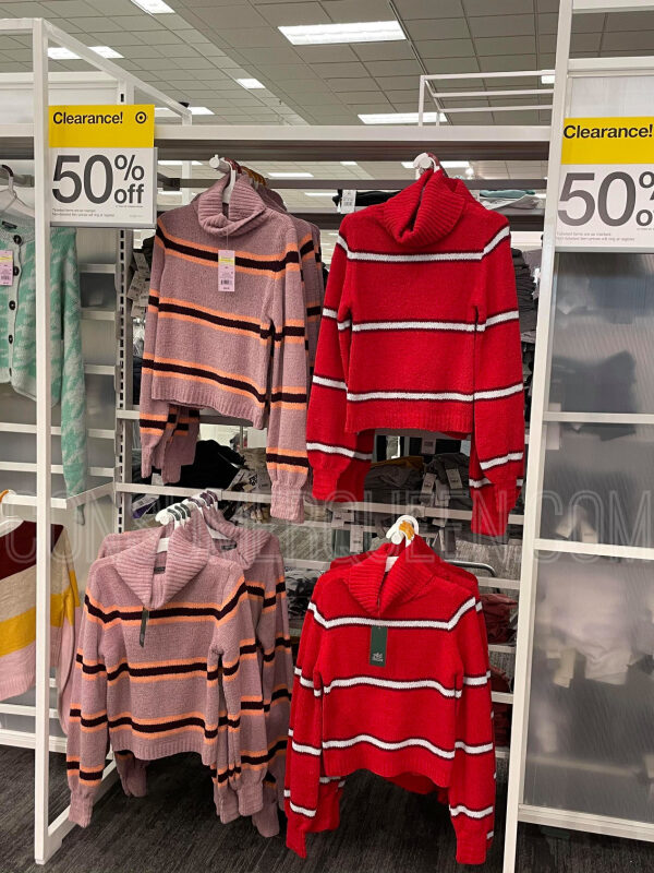 Sweaters 50% Off at Target This Week – Prices Start at $7.50!
